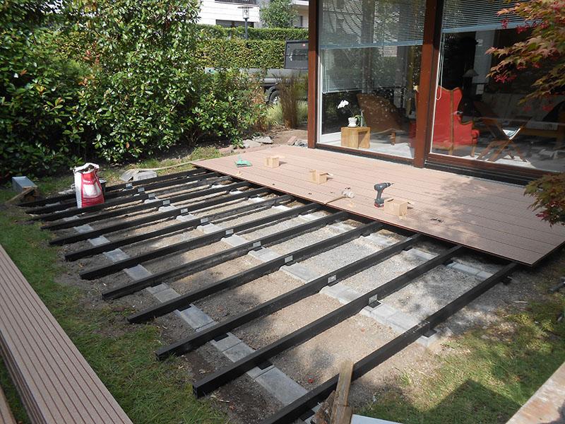 Terrassenbau WPC
